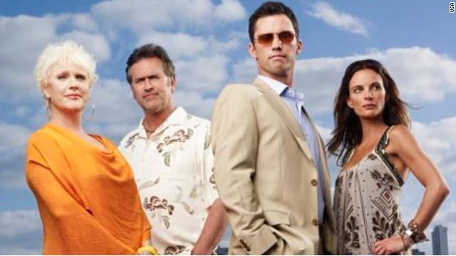 Burn Notice Cast - 2007-2013