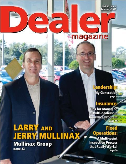 Larry & Jerry Mullinax - February 2013