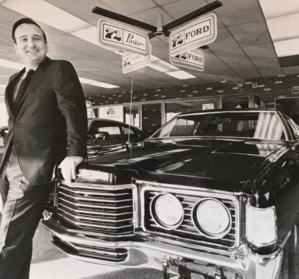 Ed Mullinax - Mullinax Ford - Amherst, Ohio - Circa 1975