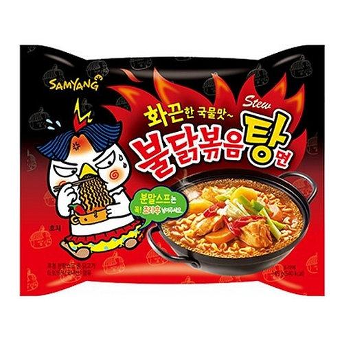 725 g | 삼양 | 불닭볶음탕면 | Hot Chicken Flavour Ramentew Type | 5 Packs