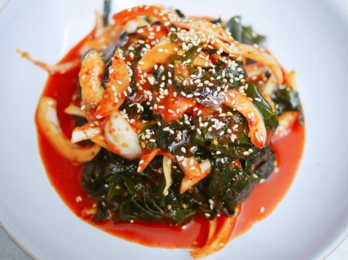 8oz 매운 미역 샐러드 / Home Made Spicy Seaweed Salad