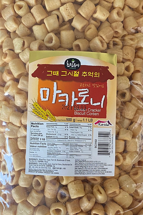 500g 초립동이 마카로니 / Korean Cracker