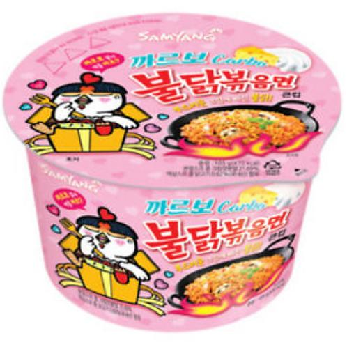 까르보불닭볶음면 Spicy Carbo Chicken Roasted 105g