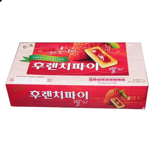 후렌치파이 (딸기) / French Pie with Strawberry Jam