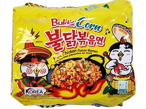 650g 불닭볶음면 옥수수/ Hot Chicken Flavour Ramen Corn (5Pack)