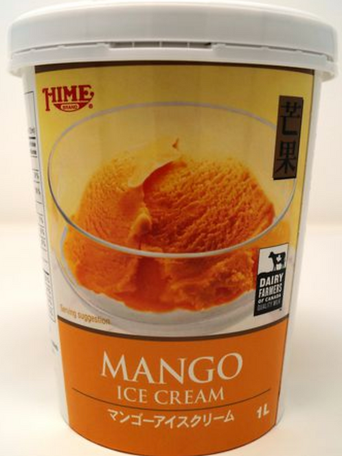1L Hime Mango Ice Cream