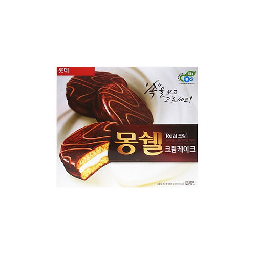 384 g | 롯데 | 몽쉘 크림 | Moncher Cream Cake