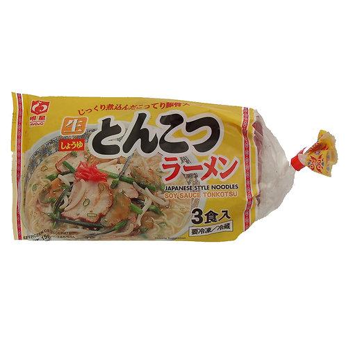 냉동 일본라멘 간장 돈코츠맛 / Frozen Japanese Ramen (Soy Sauce Tonkatsu Flavor)