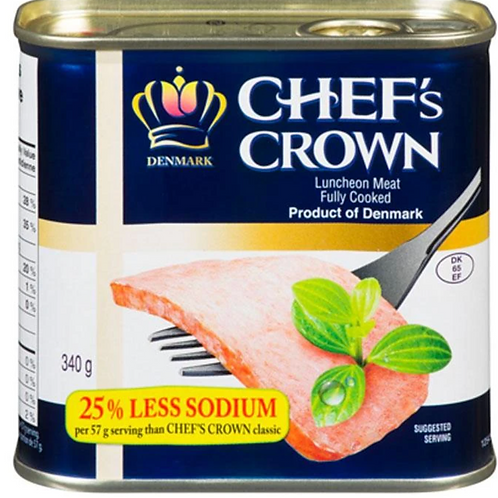 340g Chef's Crown Luncheon Meat