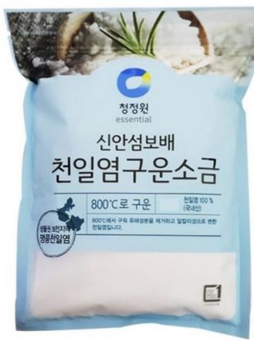 천일염 구운소금 Roasted Salt fine 500g