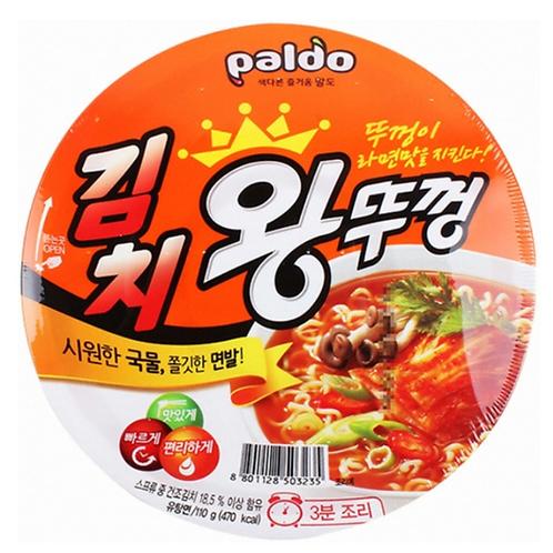110g 김치 왕뚜껑 / Kimchi Flavour King Cup Noodle