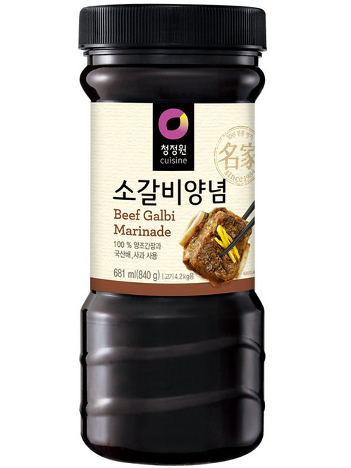 840 g | 대상 | 소갈비 양념 | Beef Galbi Sauce