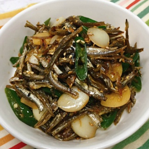 12oz 간장 멸치 볶음 / Home Made Stir Fried Anchovy with Soy Sauce