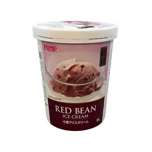 1L Hime Red Bean Ice Cream