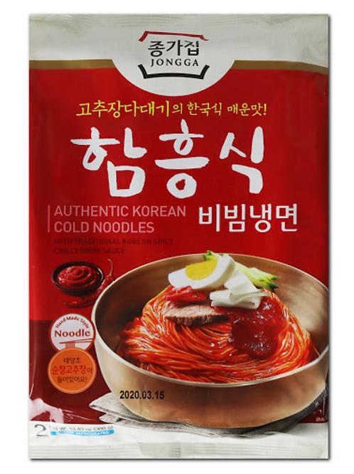 380 g | 종가집 | 함흥식 비빔냉면 | Authentic Korean Cold Noodles