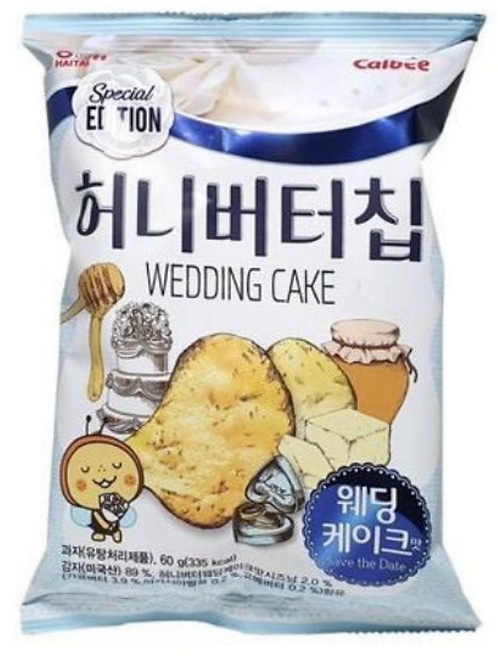 60g 허니 버터칩 웨딩 케익 / Honey Butter Chip Wedding Cake