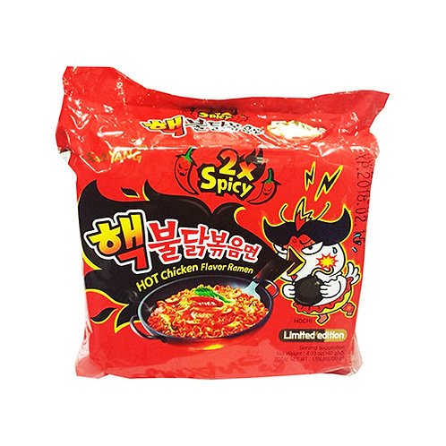 700g 핵불닭볶음면/ 2x Hot Chicken Flavour Ramen (5Pack)