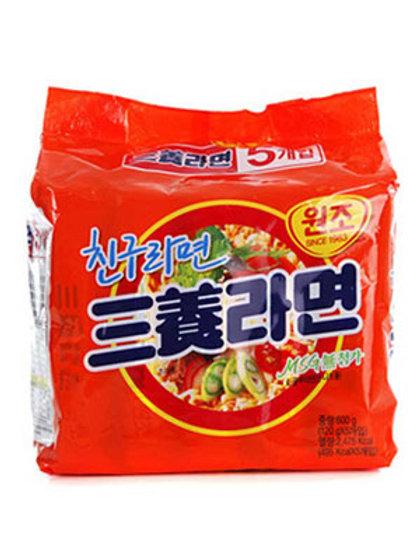 600g 삼양라면(5팩) / Samyang Ramen (5Pack)