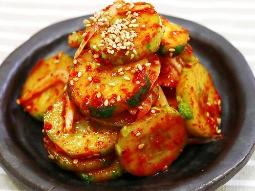 8oz 오이 무침 / Home Made Korean Cucumber Salad