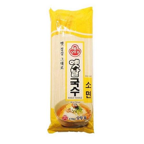 500 g | 옛날 | 국수 소면 | Koreanwheat Noodle Janchi Guksu