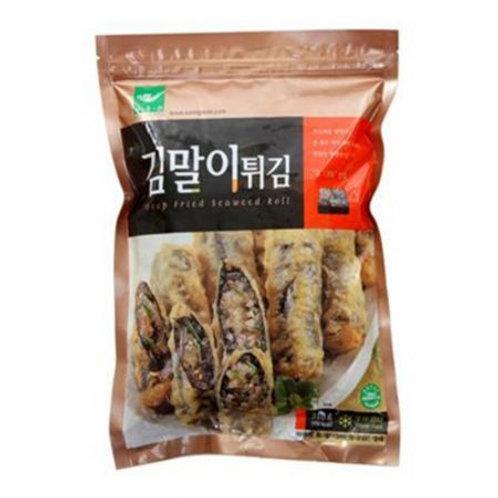 김말이 튀김 / Deep-Fried Seaweed Roll with Glass Noodles