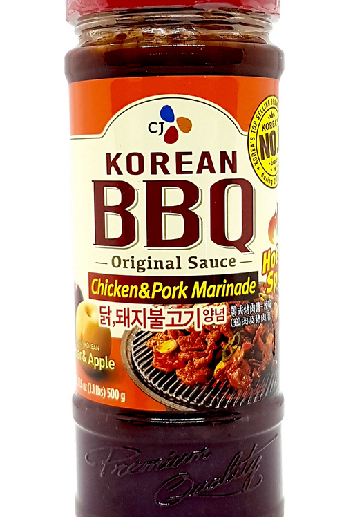 500 g | CJ | 닭/돼지불고기 양념 | Spicy Bulgogi Sauce