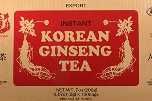 200g Korean Ginseng Tea (Individual Tea Sachets)