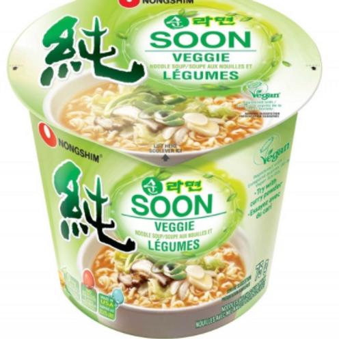 순 라면 Soon Veggie Noodle Soup 75g