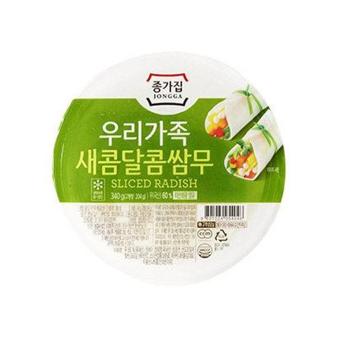 340g 종가집 새콤달콤 쌈무/JONGGA SLICED RADISH