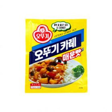 1kg 오뚜기 카레가루 (매운맛) / Korean Yellow Curry Powder (Medium Spicy)