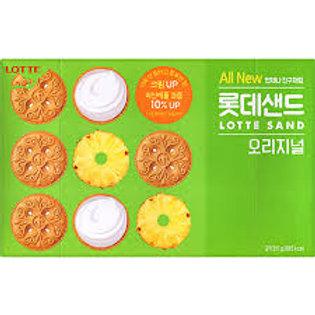 롯데샌드 오리지널 Korean Biscuit