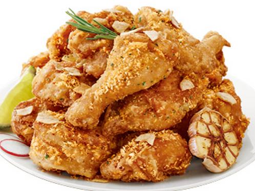 Raw Honey GarlicChicken (Half) / 쌩꿀 마늘 치킨(반마리)
