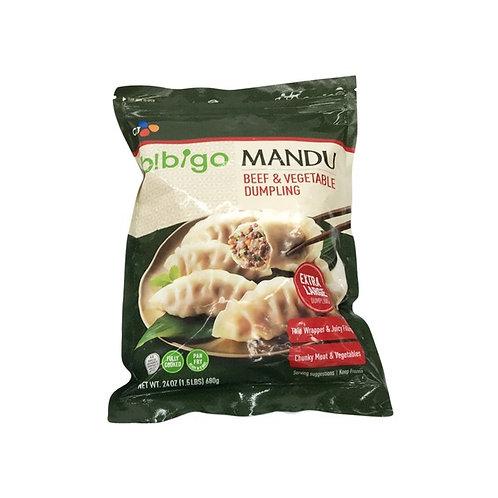 907g Bibigo Beef & Vegetable Dumpling/ 비비고 소고기 만두