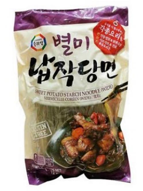 별미 납작 당면 Korean Style Noodle 340g