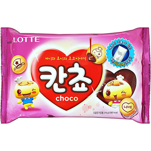 칸쵸 초코 196g / Biscuit with Chocolate Cream