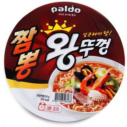 110g 왕뚜껑 / Champong King Cup Noodle