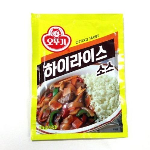 1kg 오뚜기 하이라이스 가루 / Korean Hash Powder