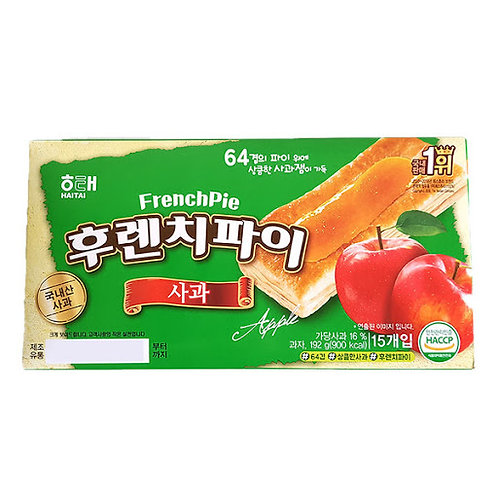 192g 후렌치파이 (사과) / French Pie with Apple
