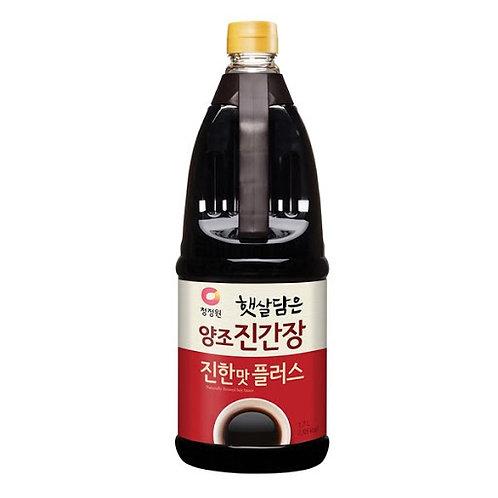 1.7L 청정원 양조진간장 (진한맛)/ Soy Sauce Rich Flavour