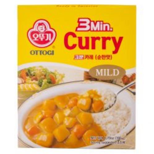 190g 3분 카레 순한맛 / 3min Curry Sauce (Mild)