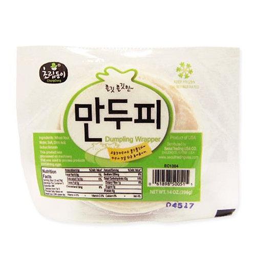 396g 초립동이 만두피/ Choripdong Dumpling Wrapper