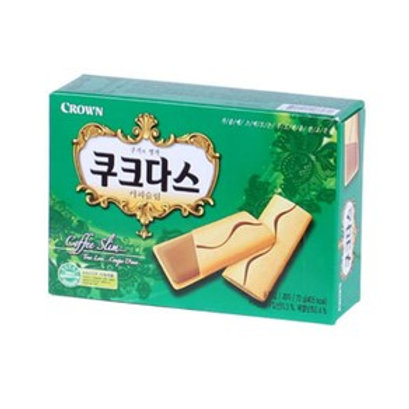 쿠크다스 (커피) 72g / Soft Biscuit with Coffee Cream