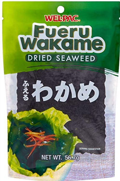 56.7g WelPac Fueru Wakame Dried Seaweed
