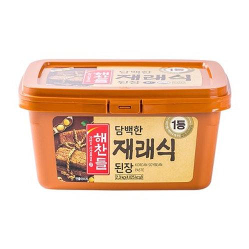 3kg 해찬들 재래식된장 / Soybean Paste (DOENJANG)