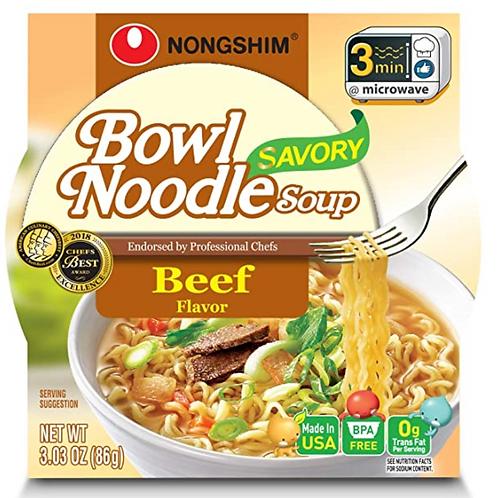 85g 육개장 소고기 사발면 / Bowl Noodle Soup Beef Flavour