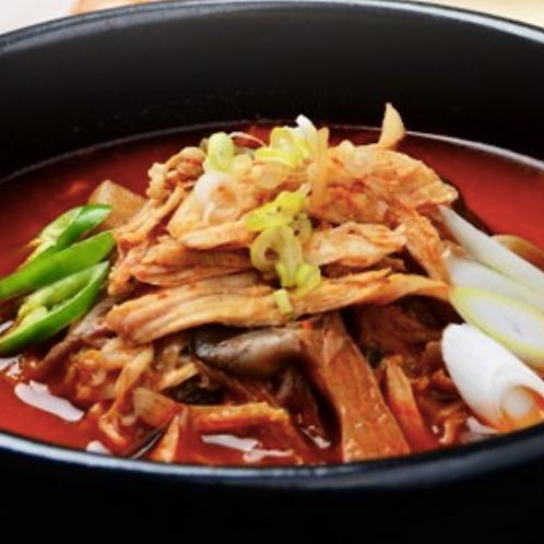닭개장 | Dakgaejang | 香辣鸡丝汤 | 2 Servings