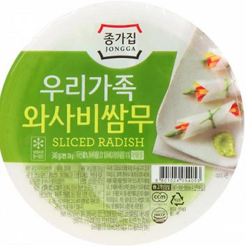 340g 와사비쌈무 / Sliced Radish