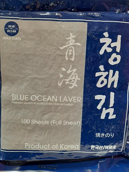 한국산 스시/김밥용 김 (100장)