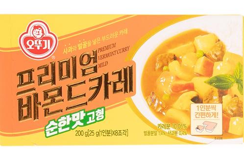200g 프리미엄 바몬드카레 순한맛 / Premium Vermont Curry Mild