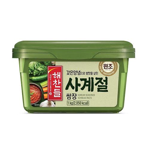 1kg 해찬들 사계절 쌈장 / Seasoned Soybean Paste